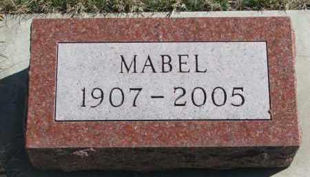 DALLMAN, MABEL - Cedar County, Nebraska | MABEL DALLMAN - Nebraska Gravestone Photos