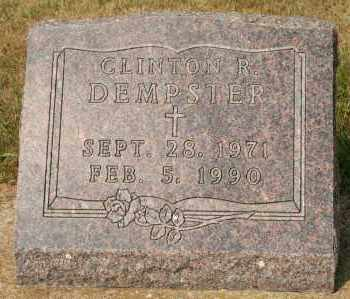DEMPSTER, CLINTON R - Cedar County, Nebraska | CLINTON R DEMPSTER - Nebraska Gravestone Photos