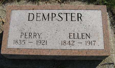 DEMPSTER, ELLEN - Cedar County, Nebraska   ELLEN DEMPSTER - Nebraska Gravestone Photos