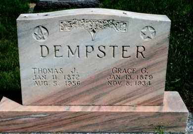 DEMPSTER, GRACE G - Cedar County, Nebraska | GRACE G DEMPSTER - Nebraska Gravestone Photos