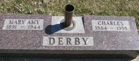 DERBY, CHARLES - Cedar County, Nebraska | CHARLES DERBY - Nebraska Gravestone Photos