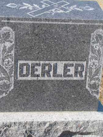 DERLER, PLOT - Cedar County, Nebraska | PLOT DERLER - Nebraska Gravestone Photos