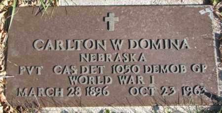 DOMINA, CARLTON W. - Cedar County, Nebraska | CARLTON W. DOMINA - Nebraska Gravestone Photos