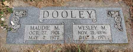 DOOLEY, WESLEY M. - Cedar County, Nebraska | WESLEY M. DOOLEY - Nebraska Gravestone Photos