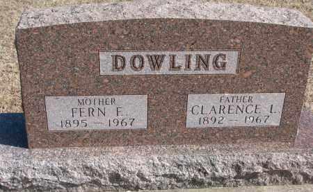 DOWLING, FERN F. - Cedar County, Nebraska | FERN F. DOWLING - Nebraska Gravestone Photos