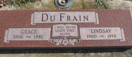 DU FRAIN, GRACE - Cedar County, Nebraska   GRACE DU FRAIN - Nebraska Gravestone Photos
