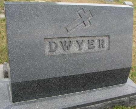DWYER, FAMILY STONE - Cedar County, Nebraska   FAMILY STONE DWYER - Nebraska Gravestone Photos