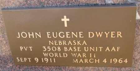 DWYER, JOHN EUGENE (WW II) - Cedar County, Nebraska | JOHN EUGENE (WW II) DWYER - Nebraska Gravestone Photos