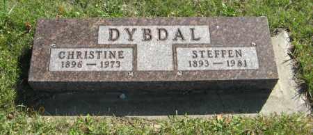 DYBDAL, STEFFEN - Cedar County, Nebraska | STEFFEN DYBDAL - Nebraska Gravestone Photos