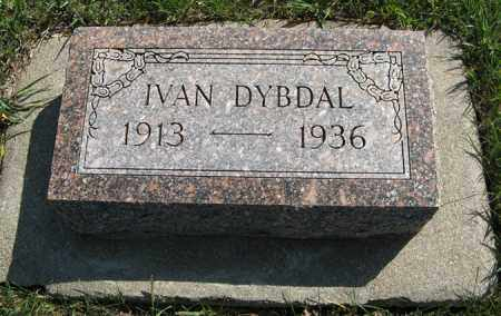 DYBDAL, IVAN - Cedar County, Nebraska | IVAN DYBDAL - Nebraska Gravestone Photos