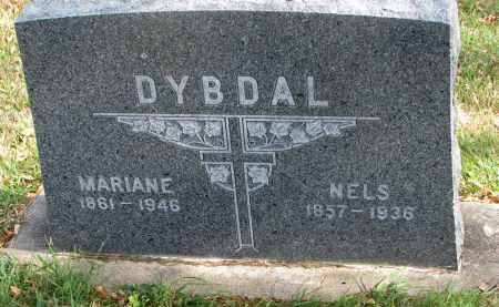 DYBDAL, MARIANE - Cedar County, Nebraska | MARIANE DYBDAL - Nebraska Gravestone Photos