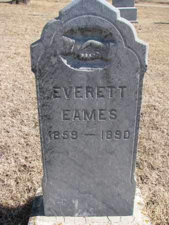 EAMES, EVERETT - Cedar County, Nebraska | EVERETT EAMES - Nebraska Gravestone Photos