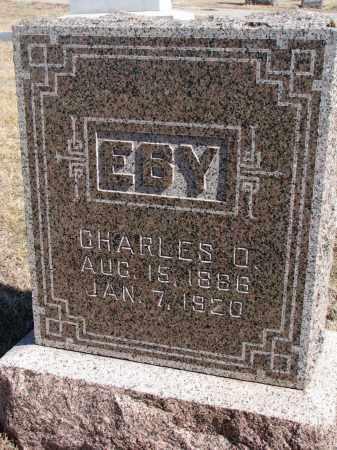EBY, CHARLES O. - Cedar County, Nebraska | CHARLES O. EBY - Nebraska Gravestone Photos