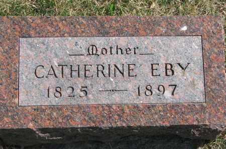 EBY, CATHERINE - Cedar County, Nebraska | CATHERINE EBY - Nebraska Gravestone Photos