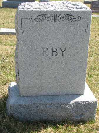 EBY, FAMILY STONE - Cedar County, Nebraska | FAMILY STONE EBY - Nebraska Gravestone Photos