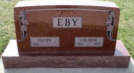 EBY, GLENN - Cedar County, Nebraska | GLENN EBY - Nebraska Gravestone Photos