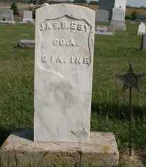EBY, JAS B. (JAMES) - Cedar County, Nebraska | JAS B. (JAMES) EBY - Nebraska Gravestone Photos