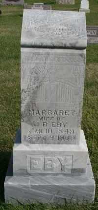 EBY, MARGARET - Cedar County, Nebraska | MARGARET EBY - Nebraska Gravestone Photos