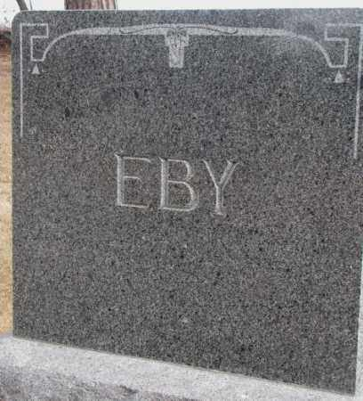 EBY, PLOT - Cedar County, Nebraska | PLOT EBY - Nebraska Gravestone Photos