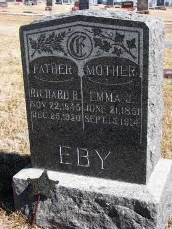 EBY, RICHARD R. - Cedar County, Nebraska | RICHARD R. EBY - Nebraska Gravestone Photos