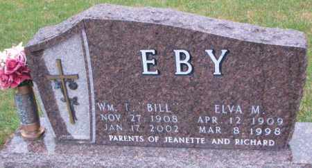 "EBY, WM. T. ""BILL"" - Cedar County, Nebraska 