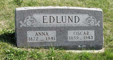 EDLUND, OSCAR - Cedar County, Nebraska | OSCAR EDLUND - Nebraska Gravestone Photos