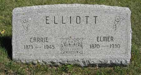 ELLIOTT, CARRIE - Cedar County, Nebraska   CARRIE ELLIOTT - Nebraska Gravestone Photos