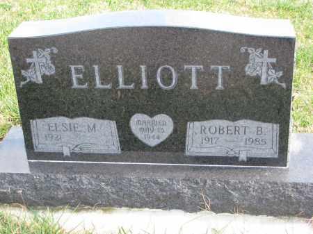 ELLIOTT, ELSIE M. - Cedar County, Nebraska | ELSIE M. ELLIOTT - Nebraska Gravestone Photos
