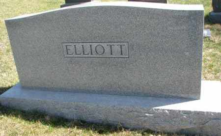 ELLIOTT, FAMILY STONE - Cedar County, Nebraska | FAMILY STONE ELLIOTT - Nebraska Gravestone Photos