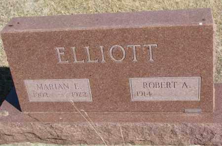 ELLIOTT, ROBERT A. - Cedar County, Nebraska | ROBERT A. ELLIOTT - Nebraska Gravestone Photos