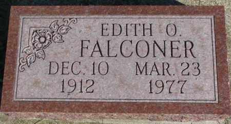 FALCONER, EDITH O. - Cedar County, Nebraska | EDITH O. FALCONER - Nebraska Gravestone Photos