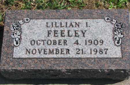 FEELEY, LILLIAN I. - Cedar County, Nebraska | LILLIAN I. FEELEY - Nebraska Gravestone Photos