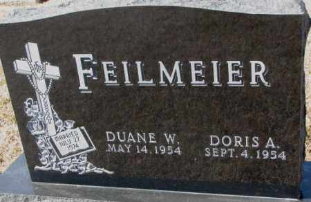 FEILMEIER, DORIS A. - Cedar County, Nebraska | DORIS A. FEILMEIER - Nebraska Gravestone Photos