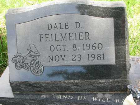 FEILMEIER, DALE D. - Cedar County, Nebraska   DALE D. FEILMEIER - Nebraska Gravestone Photos