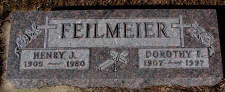 FEILMEIER, HENRY J. - Cedar County, Nebraska | HENRY J. FEILMEIER - Nebraska Gravestone Photos