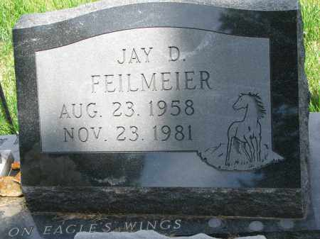 FEILMEIER, JAY D. - Cedar County, Nebraska | JAY D. FEILMEIER - Nebraska Gravestone Photos