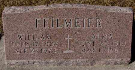 FEILMEIER, WILLIAM - Cedar County, Nebraska | WILLIAM FEILMEIER - Nebraska Gravestone Photos