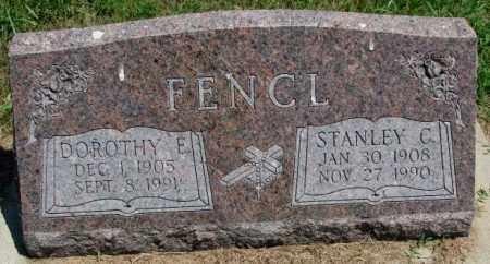 FENCL, STANLEY C. - Cedar County, Nebraska | STANLEY C. FENCL - Nebraska Gravestone Photos