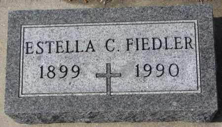 FIEDLER, ESTELLA C. - Cedar County, Nebraska | ESTELLA C. FIEDLER - Nebraska Gravestone Photos