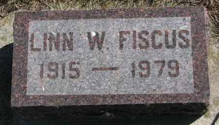 FISCUS, LINN W. - Cedar County, Nebraska | LINN W. FISCUS - Nebraska Gravestone Photos