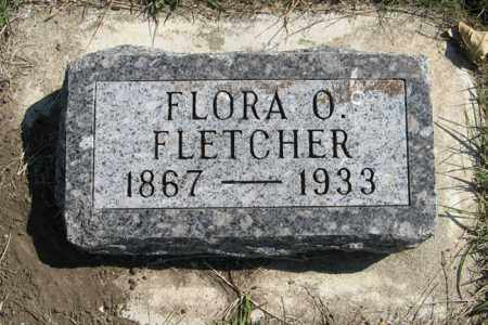 FLETCHER, FLORA O. - Cedar County, Nebraska | FLORA O. FLETCHER - Nebraska Gravestone Photos