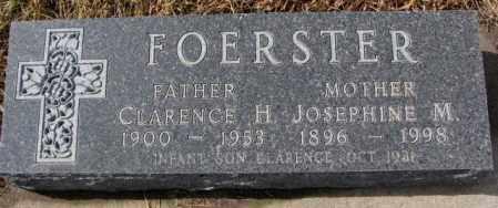 FOERSTER, CLARENCE H. - Cedar County, Nebraska | CLARENCE H. FOERSTER - Nebraska Gravestone Photos