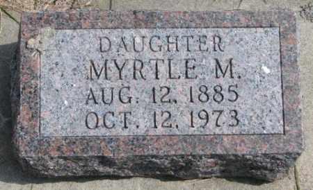 FOX, MYRTLE M. - Cedar County, Nebraska | MYRTLE M. FOX - Nebraska Gravestone Photos