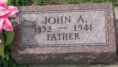 FRIEDENBACH, JOHN A. - Cedar County, Nebraska | JOHN A. FRIEDENBACH - Nebraska Gravestone Photos