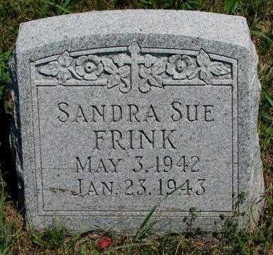 FRINK, SANDRA SUE - Cedar County, Nebraska | SANDRA SUE FRINK - Nebraska Gravestone Photos