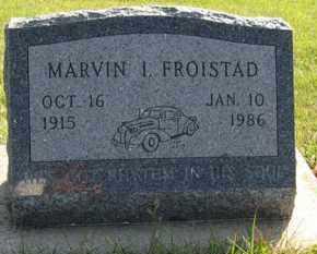 FROISTAD, MARVIN I. - Cedar County, Nebraska | MARVIN I. FROISTAD - Nebraska Gravestone Photos
