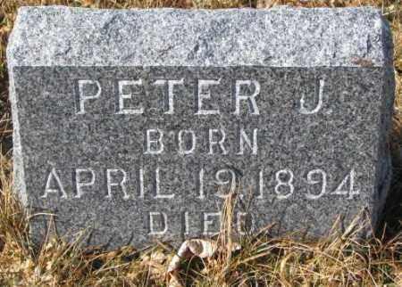 GARRIGAN, PETER J. - Cedar County, Nebraska | PETER J. GARRIGAN - Nebraska Gravestone Photos