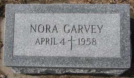 GARVEY, NORA - Cedar County, Nebraska | NORA GARVEY - Nebraska Gravestone Photos