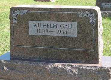 GAU, WILHELM - Cedar County, Nebraska   WILHELM GAU - Nebraska Gravestone Photos