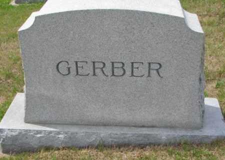 GERBER, FAMILY STONE - Cedar County, Nebraska | FAMILY STONE GERBER - Nebraska Gravestone Photos